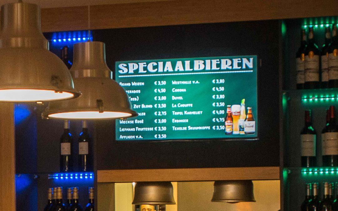 Digitale Bierkaart