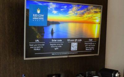 Thuis in je hotelkamer met Chromecast oplossing voor streaming