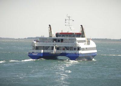 Twee nieuwe ultramoderne LG displays van ClubDisplay op de Westerschelde Ferry