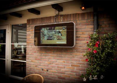 Extra Outdoor display voor Boerhaave