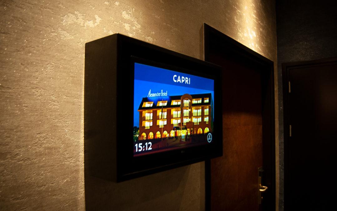 Evenementen en bewegwijzering efficiënt aankondigen via scherm(en)