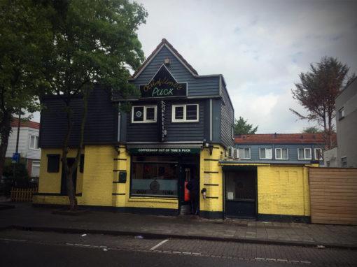 Interactieve menuborden voor Coffeeshop Puck Rotterdam