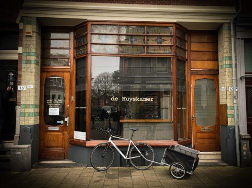 Digitale menuborden Coffeeshop de Huyskamer Rotterdam