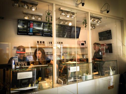 Digitale menuborden voor Coffeeshop Creemers Den Haag