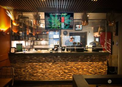 Interactief menubord voor Coffeeshop Horizon Amersfoort
