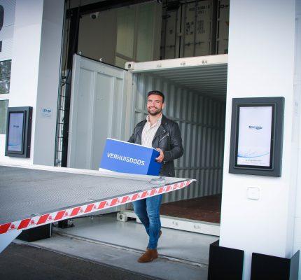 Eerste geautomatiseerde container self-storage in Katwijk