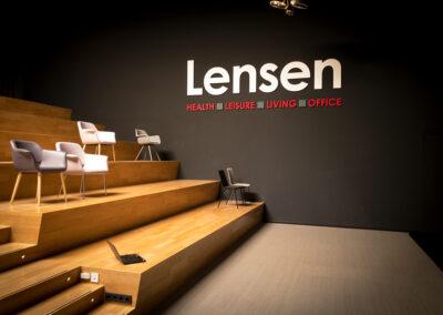 Digital Signage voor Lensen Zaltbommel